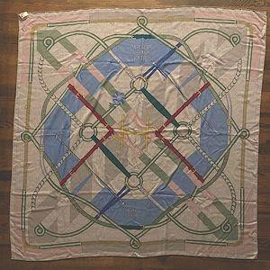 Hermes 140x140 silk/cashmere scarf/shawl